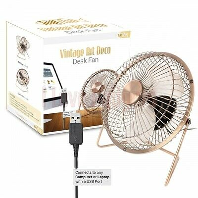 Mini Ventilatore usb pc notebook mini fan ruotabile 360° per casa ufficio