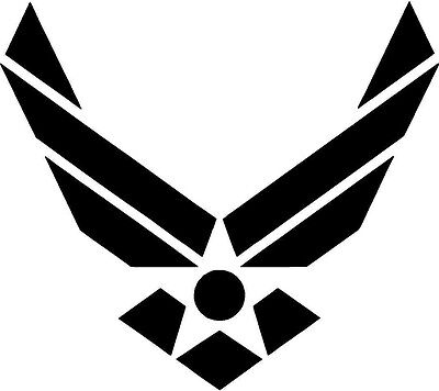 U.S Air Force Military vinyl decal sticker CAR TRUCK MAC - U Pick Color & Size