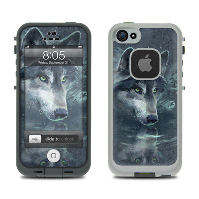 Skin for LifeProof iPhone 5 - Wolf Reflection by Antonia Neshev - Sticker Decal