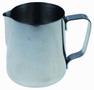 Milchkanne 0,6l Edelstahl | milk jug without lid capacity 0,6l stainless steel