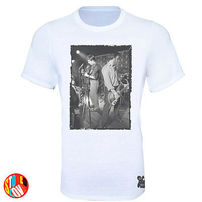 Joy Division - Ian Curtis (rare image) 1979 Bowdon Vale Youth Club T-Shirt #jd3