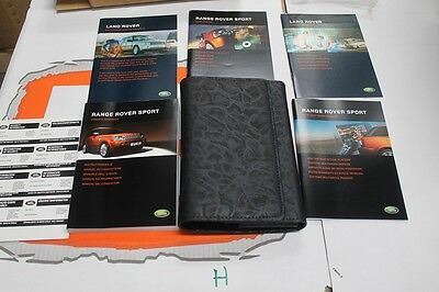 VDC500300 FRENCH Range Rover Sport Owners Hand Book service Pack + Wallet
