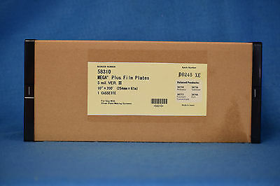 """10"""" x 200' POLY 5 MIL PLATE MATERIAL ONE ROLL. NEW"""