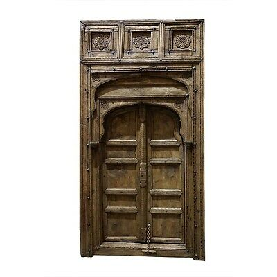 "107"" Kerry Wooden Door  Carved Antique Vintage Architectural Hand Made 11"