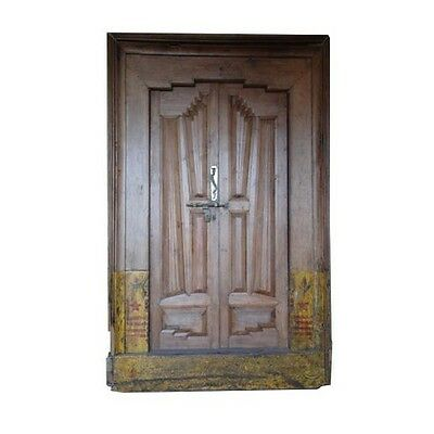 "91"" Candice Old Door  Carved Antique Architectural Vintage Solid Wood Hand Made"