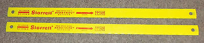 Lot of 2 Starrett High Speed Redstripe Hacksaw Blade NEW Old Stock RS 1714-5