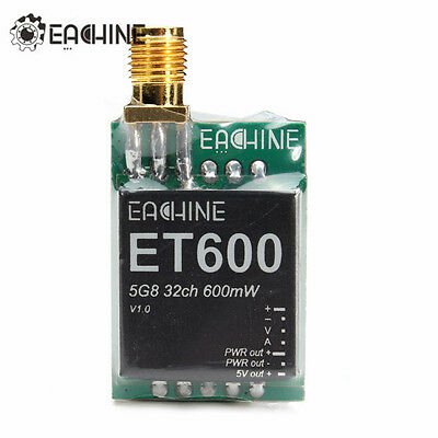 Eachine 700tvl ET600 5.8G 32CH 600mW Mini Transmitter *FREE SHIPPING* NO CAMERA