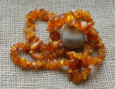 48.3 gr Genuine natural amber egg yolk butterscotch honey necklace pendant