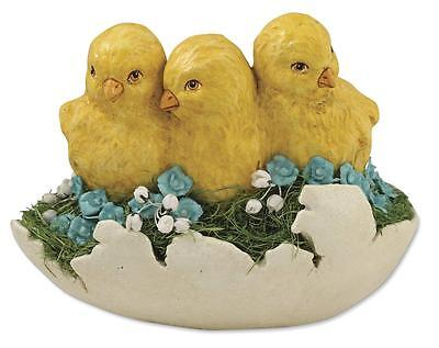 """Bethany Lowe Baby Chicks in Hatched Egg Easter 6"""" Figure"""