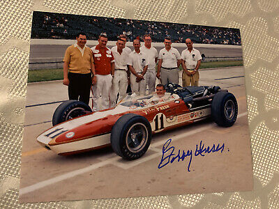 Bobby Allison Signed Indy 500 8 X 10 Car Photo Autographed Indianapolis 1975
