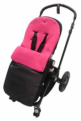 Footmuff / Cosy Toes Compatible with Buggy Pushchair Dark Pink