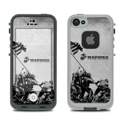 Skin Kit for LifeProof FRE iPhone 5S - USMC Flag Raise Iwo Jima - Sticker Decal