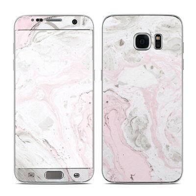 Galaxy S7 Edge Skin - Rosa Marble - Sticker Decal
