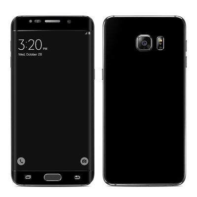 Galaxy S6 Edge Plus Skin - Solid Black - Sticker Decal