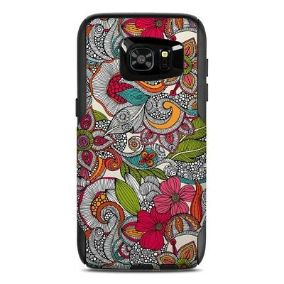 Skin for Otterbox Commuter Galaxy S7 Edge - Doodles Color - Sticker