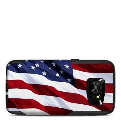 Skin for Otterbox Commuter Galaxy S7 Edge - Patriotic by Flags - Sticker
