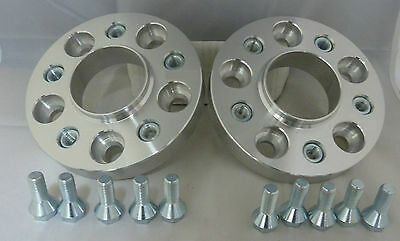 Saab 93 9-3 1998 on 5x110 20mm ALLOY Hubcentric Wheel Spacers 1 pair