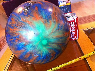 AMF Bowling Ball Heavy 5.5kg Boogie Orange & Blue Raymond