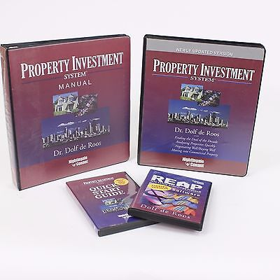 Property Investment System Dolf De Roos Real Estate Nightingale Conant Course