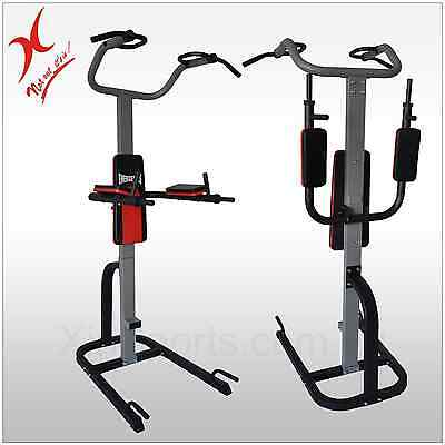 Fold-Away Vkr Station - Home Gym Power Tower - Chin Up - Pull Up - Push Up Rack