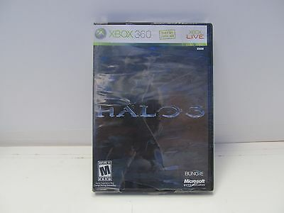 Halo 3 (for Xbox 360) BRAND NEW FACTORY SEALED Xbox 360.