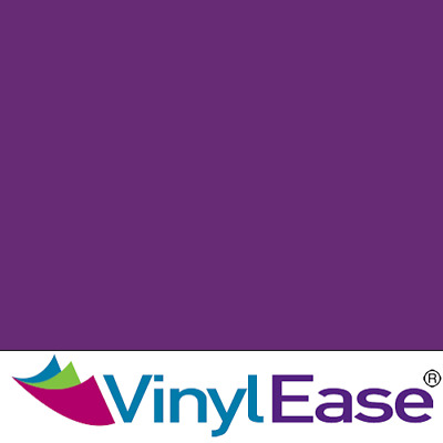 One 12 in x 40 ft Roll Glossy Violet Permanent Craft and Sign Vinyl V0440