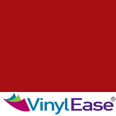 One 12 inch x 40ft Roll Glossy Wine Red Permanent Sign and Craft Vinyl V0444