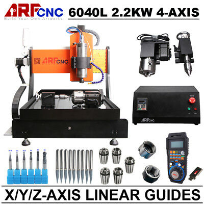 USB Mach3 3-axis CNC router 6040 2.2KW Spindle Engraving Milling Carving Machine