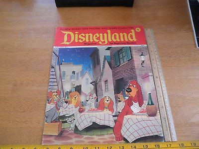Disneyland Magazine 1972 Lady and the Tramp wraparound cvr #3