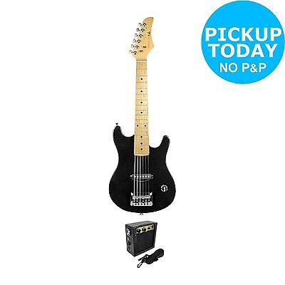 Pure Tone Junior Electric Guitar and Amp - Black -From the Argos Shop on ebay