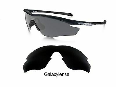 86fac71a39c Galaxy Replacement Lenses For Oakley M2 Frame Sunglasses Black Polarized