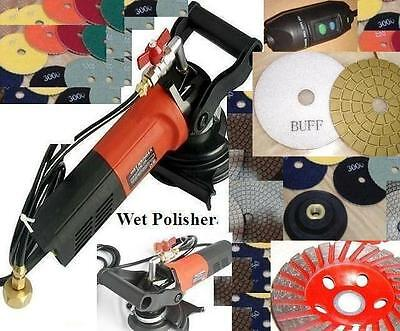 Wet Polisher Stadea Polishing 15 Pad Glaze Buff Cup Stone Concrete Travertine