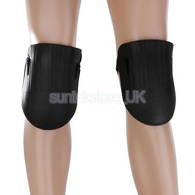 1 Pair Waterproof Garden Kneepad EVA Soft Knee Pads, Elastic Bundle Black