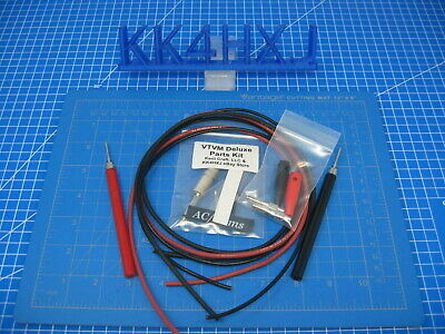 Deluxe Heathkit VTVM Probe Kit - Complete kit for 3 Wire Meters V-4/5/6/7A