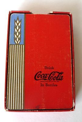 Rare 1939 Red Deck, Drink Coca Cola Playing Cards. Not Complete