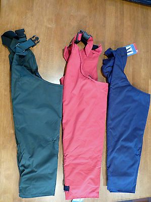 Belstane Waterproof Kids Full Leg Chaps    Bnnt   3 Colours & Multi Sizes