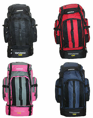Extra Large 70L Travel Hiking Camping Festival Luggage Rucksack Backpack Bag