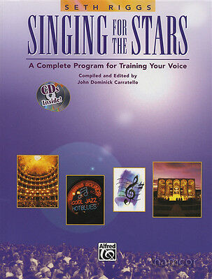 Singing for the Stars Vocal Training Music Book/2CD Learn How to Sing Seth Riggs