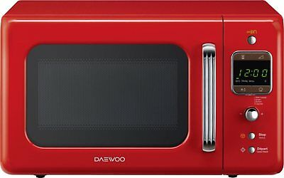 Daewoo Forno Microonde 20 Lt 800 W Rosso KOR6LBR