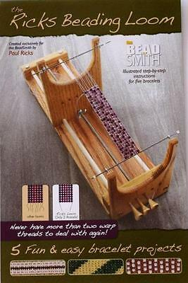 Bracelet/jewellery Making Book For Beading Loom *beadsmith *author Paul Ricks