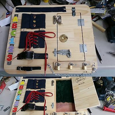Busy Board - Custom Made - Kids Active Learning Toy