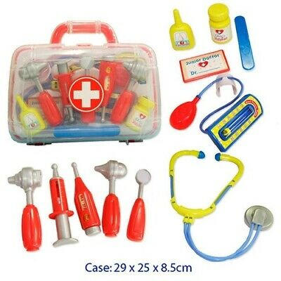 PRETEND PLAY Medical DOCTOR'S NURSE HOSPITAL Kit CARRY Case Educational Toy SET
