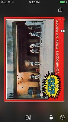 Topps Star Wars Digital Card Trader 1977 Series 2 Card 103 Insert