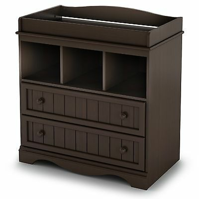 South Shore Furniture South Shore Savannah Collection Changing Table Espresso