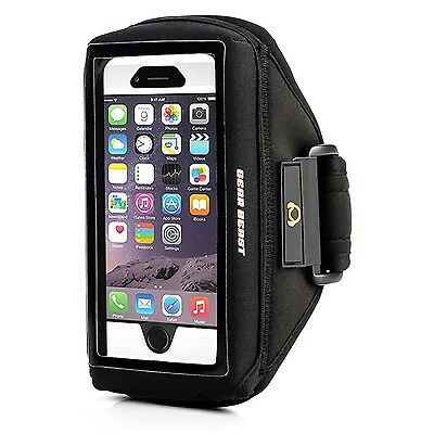 Gear Beast Case Compatible[Otterbox Lifeproof Other]Sport Gym Running Armband...