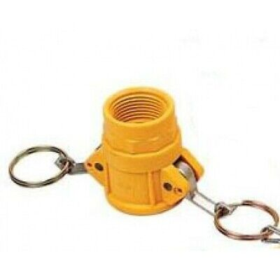 """1x 1"""" NYLON NYGLASS CAMLOCK FITTING - TYPE D Irrigation Fitting (CAM-D 1"""")"""