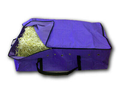 PURPLE HAY BALE BAG Carry Storage Water Ski Wake Board Camping Horse Riding Gear