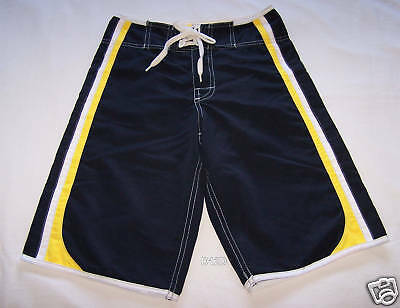 Outabounds Boys Navy Blue Board Shorts Size 12 New
