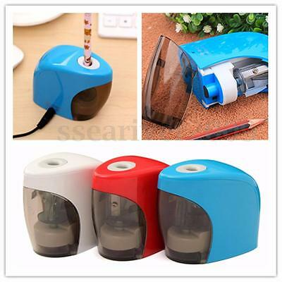 Automatic Electric USB Powered Home Office School Pencil Sharpener Study Tool