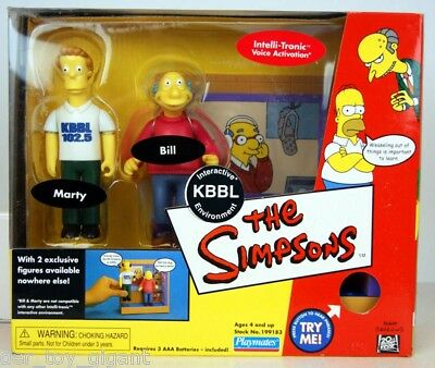 Die Simpsons -  Interactive KBBL Set mit  2 Figuren